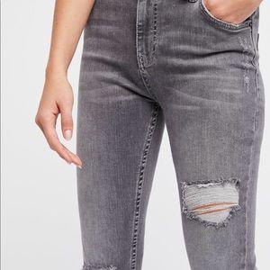 Free People Shark Bite Jeans